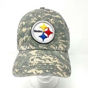 NFL Steelers Army Camouflage Camo Hat - 47 Brand